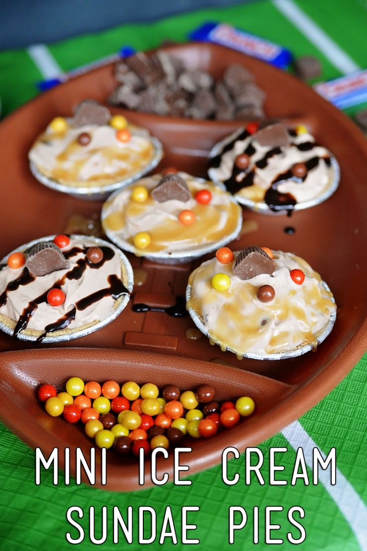 Mini Ice Cream Sundae Pies    #GameTimeMVP #ad #CollectiveBias