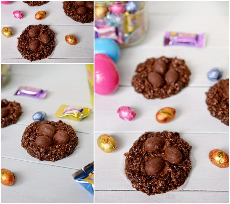 No Bake Easter Nest Cookies | #EasterEssentials #CollectiveBias #ad