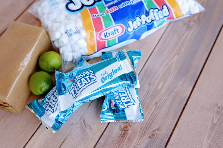 Key Lime Rice Krispies Treats | #ad #CollectiveBias #KreateMyHappy