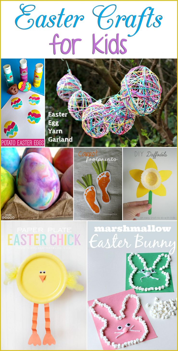 Easter Crafts For Kids Sarah Halstead