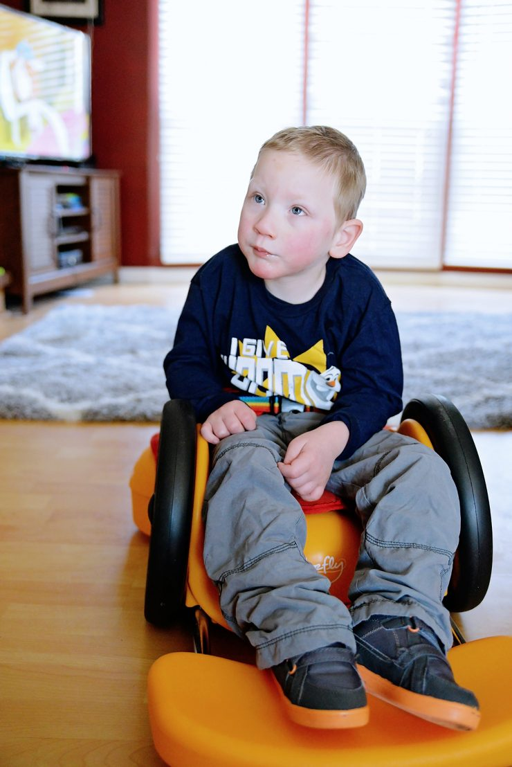 Mobility Rider for Little Explorers