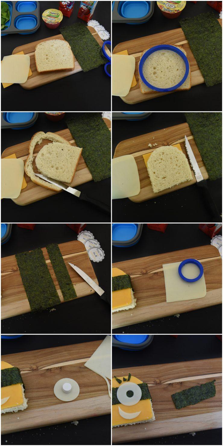 Minions Bento Lunch Box | #ad #CollectiveBias #MottsAndMinions