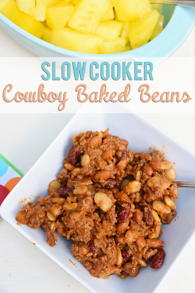Cowboy Baked Beans Recipe | #ad #CollectiveBias #SummerYum