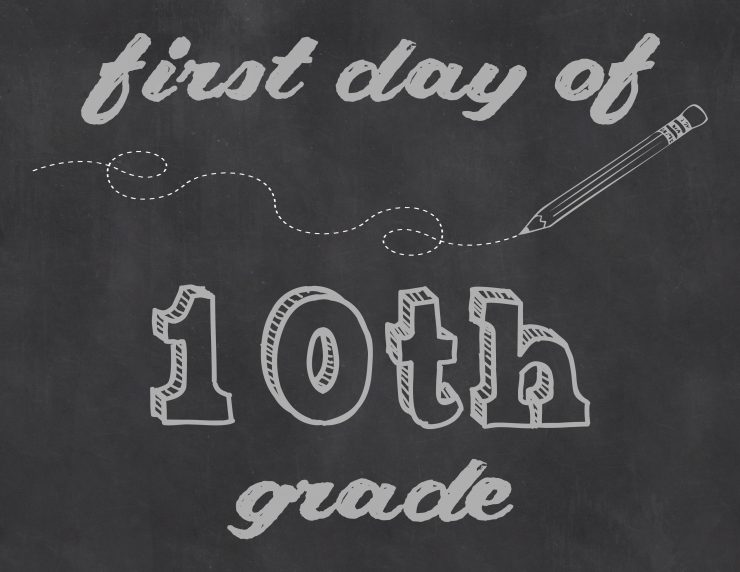First Day of 10th Grade | Sarah Halstead