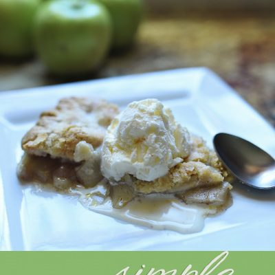 Simple Apple Pie Recipe + Giveaway
