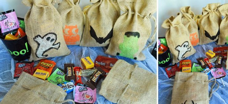 DIY Halloween Treat Bags | #TrickOrSweet #CollectiveBias #Ad