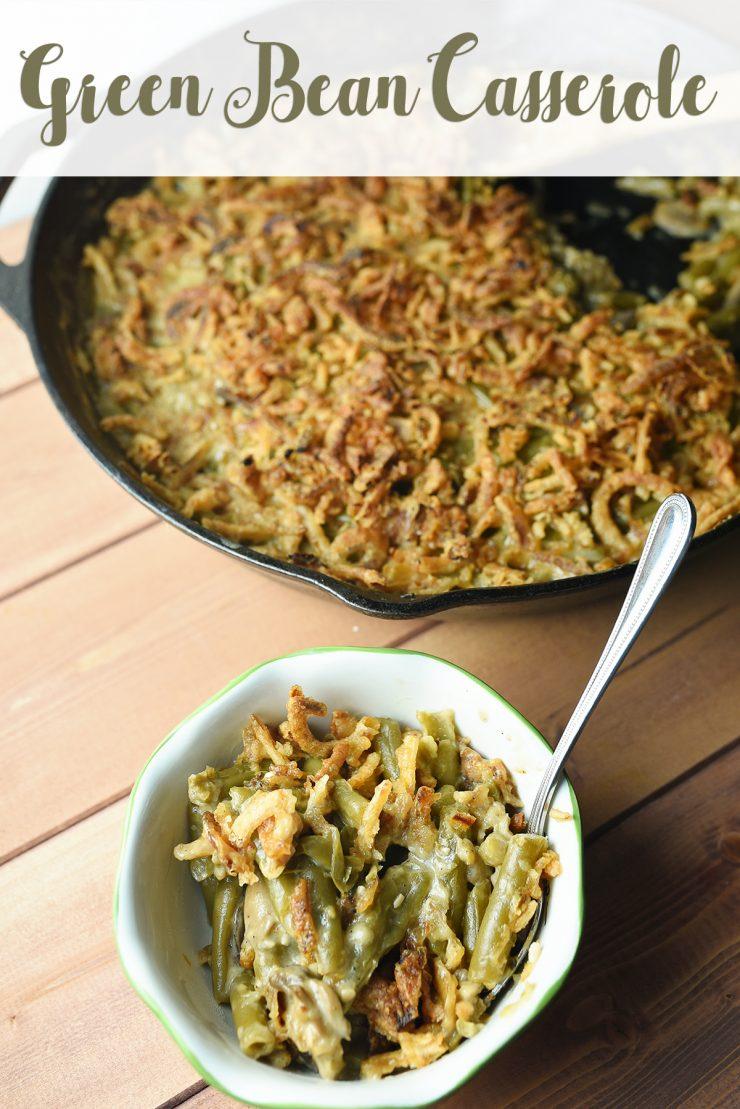 Green Bean Casserole Recipe | #ForTheLoveOfHam #CollectiveBias #ad
