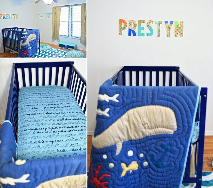 Whale Themed Nursery Bedding