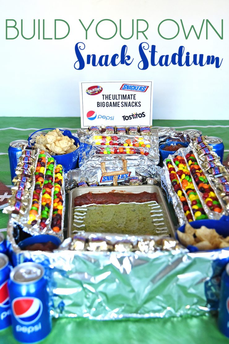 Build Your Own Snack Stadium | #GameDayGlory #ad #CollectiveBias