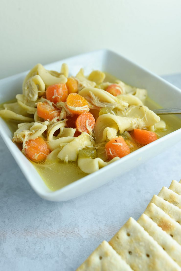 Almost Chick-fil-A Chicken Soup