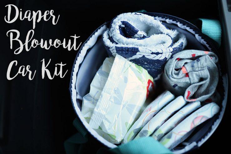 Diaper Blowout Car Kit   Sarah Halstead