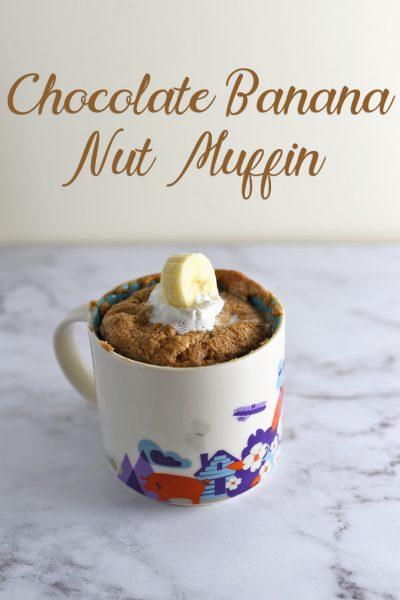 Chocolate Banana Nut Muffin
