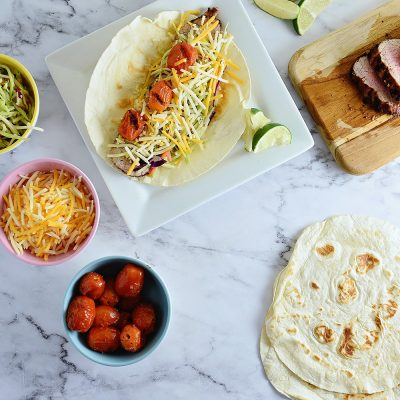 Grilled Chipotle Pork Tacos