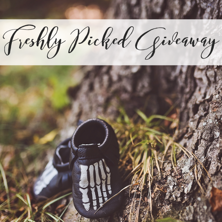 Mr. Bones Freshly Picked Moccasins & a Giveaway
