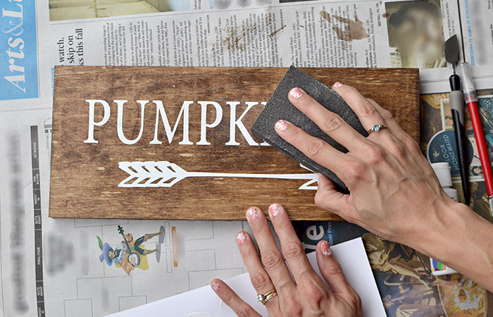 Pumpkin Sign Tutorial