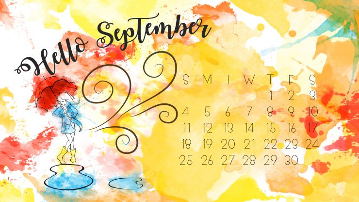 September Desktop Background