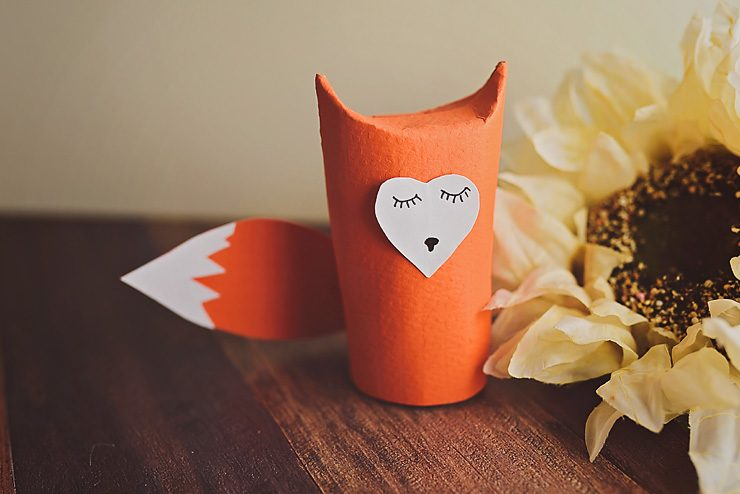 Toilet Paper Roll Fox