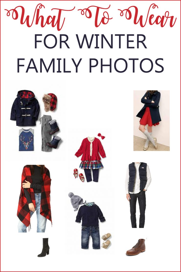 What To Wear For Winter Family Photos