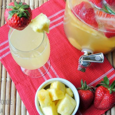 Refreshing Fruity Drinks
