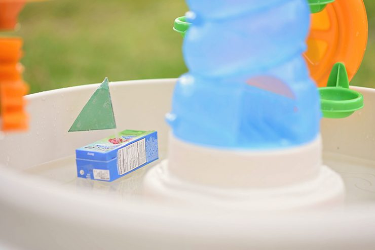 Juice Box Boat Craft
