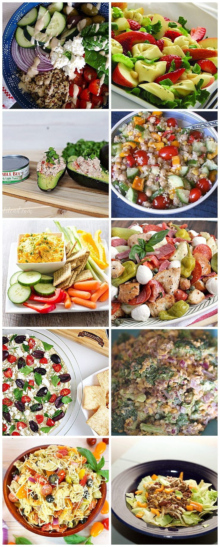 Summer Salads & Dips