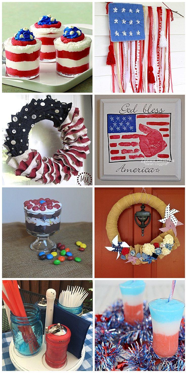 Patriotic Desserts & Crafts
