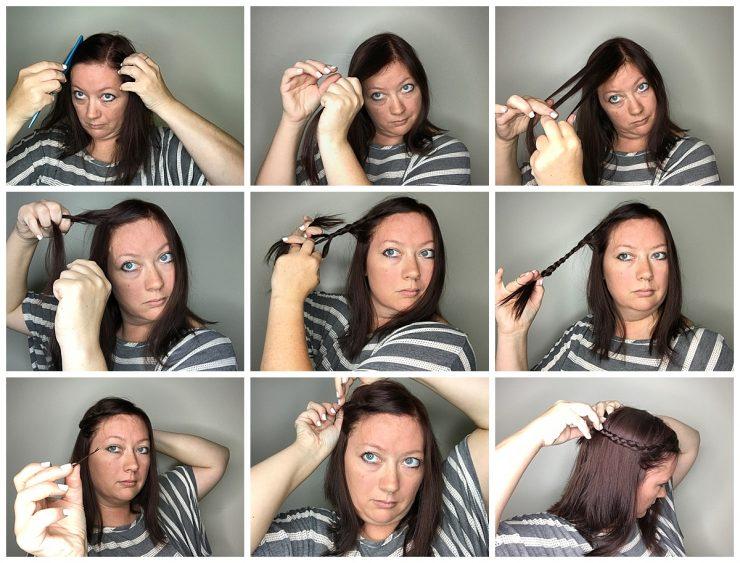 Easy Summer Hair Style