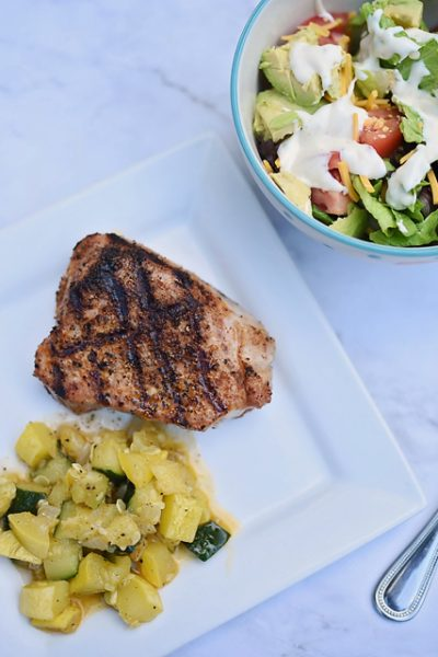 Simple Grilled Pork Chops