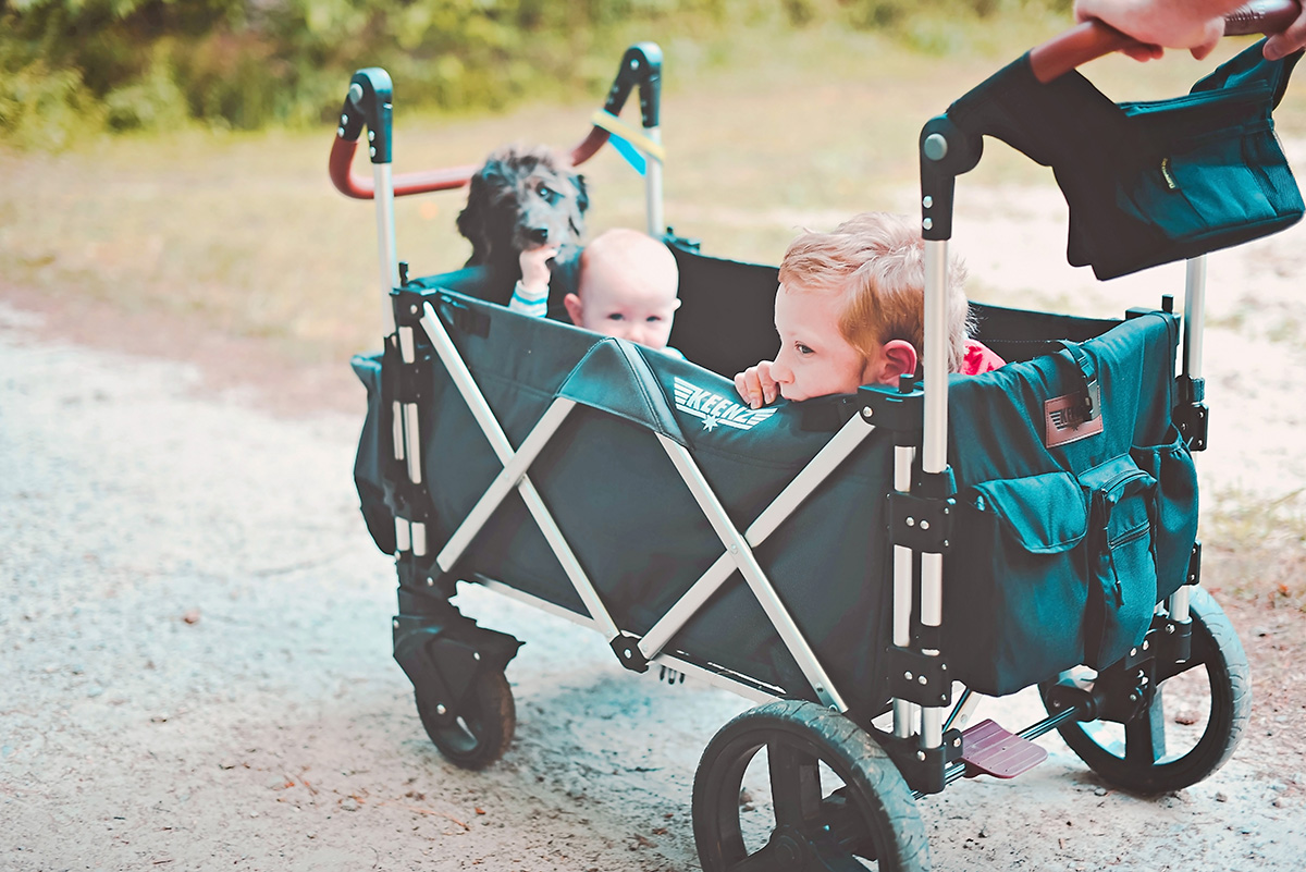 Keenz 7S Stroller Wagon Review