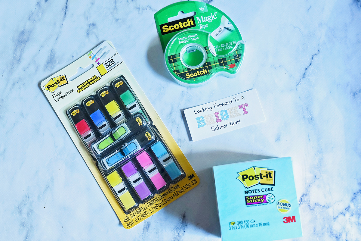 Back To School Teacher Gift Supplies